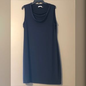 14 Navy Blue Calvin Klein Dress